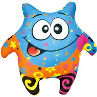 Bino Kleiner Clown Blau - Stoffspielzeug