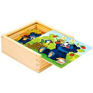 Bino Mein erstes Puzzle - Baribal - Bild-Würfel
