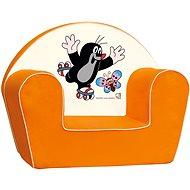 Bino Kindersessel Der kleine Maulwurf - orange - Kindermöbel