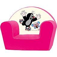 Bino Rosa Sessel - Maulwurf - Kindermöbel