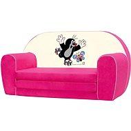 Bino Mini-rosa Sofa - Maulwurf - Kindermöbel