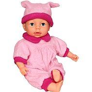 Puppe Adélka mit 24 Funktionen in Hellrosa - Baby