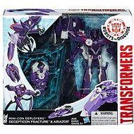 Transformers Rid - Souboj miniconů Decepticon Fracture & Airazor - Figur