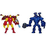 Avengers Hero Stampfer - Iron Man vs Iron Monger - Figurenset