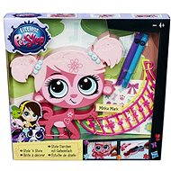 Littlest Pet Shop - Dekoratives Tier rosa - Spielset