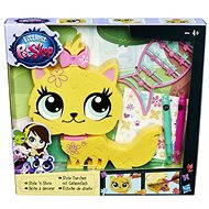 Littlest Pet Shop - Dekoratives Haustier gelb - Spielset