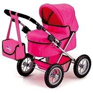 Puppenwagen Kinderwagen für Puppen - Adelka - Kočárek pro panenky