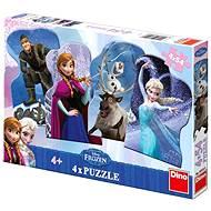 Dino Die Eiskönigin - Puzzle