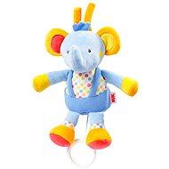 Nuk Pool party - spielender Elefant - Kinderbett-Spielzeug