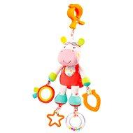 Nuk Pool party - Nilpferd mit Clip - Kinderbett-Spielzeug