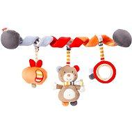 Nuk Forest Fun - Spirale mit Bärchenfigur - Kinderwagenspielzeug