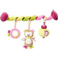 Kinderwagenspielzeug Nuk Forest Fun - Spirale mit Eulenfigur - Hračka na kočárek