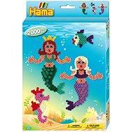 Geschenkpackung Perlenset mit Meerjungfrau-Motiv - Kreativset
