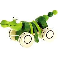Bino Krokodil - Nachziehspielzeug
