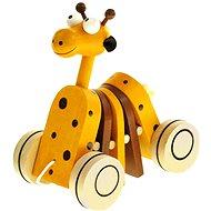Bino Nachzieh-Giraffe - Nachziehspielzeug