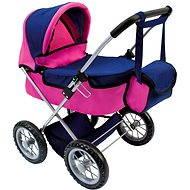 Bino Puppenwagen mit Tasche - Puppenwagen