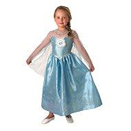 Kinderkostüm Karnevalskleider Frozen - Elsa Deluxe Größe S - Kinderkostüm