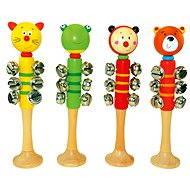 Bino Jingle Bells mit 9 Glocken - Musikspielzeug