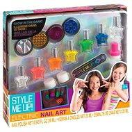 Style me up beauty set - Glänzende Nägel, die im Dunkeln leuchten - Verschönerungsset