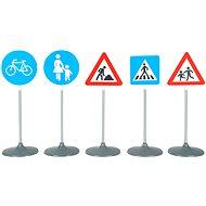 Klein Verkehrsschilder 2 - Thematisches Spielzeugset