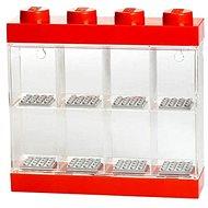 LEGO Sammelbox für 8 Figuren rot - Bausatz