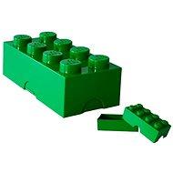 Brotdose Box LEGO Snack-Box 100 x 200 x 75 mm - dunkelgrün - Snack-Box