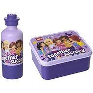 Snackbox LEGO Friends Butterbrotbox in Lavendelfarbe - Snack-Box