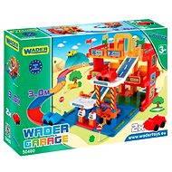 Wader - 3-Etagen-Garage mit Bahn 3 m - Baukasten