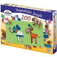 Holzspielzeug - Magnetisches Puzzle ZOO - Puzzle