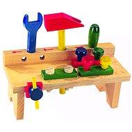 Detoa Tisch mit Werkzeug - Kinderwerkzeug