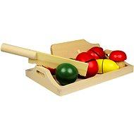 Holzerne Lebensmittel - Obst und Gemüse - Spielset