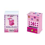 Schmuckkästchen - Box mit Schubladen - Spielset