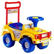 Rutschauto Jeep Yupee, gelb - Laufrad