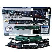 Dampflok mit 4 Wagons - Eisenbahn