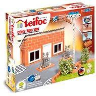 Baukastensystem Teifoc - Benzintankstelle - Baukasten