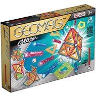 Magnetisches Geomag Kit - Glitter 68 Stücke - Magnetischer Baukasten