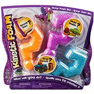 Kinetic Foam - Multipack (orange, lila, blau) - Foam-Modelliermasse
