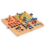 Holzspiele - Ludo, Piraten - Gesellschaftsspiel