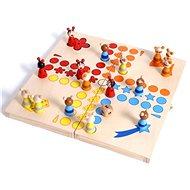 Holzspiele - Ludo, Tiere - Gesellschaftsspiel