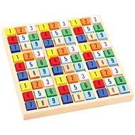 Didaktisches Spielzeug Farbiges Holz-Sudoku - Didaktická hračka