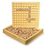 Holzspiel - Scrabble - Gesellschaftsspiel