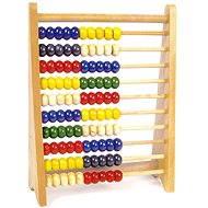 Dřevěné školní pomůcky - Velké dřevěné počítadlo - Kreativset