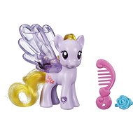 My Little Pony - Das durchsichtige Pony Lily Blossom mit Glitzern und Accessoire - Figur