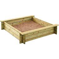 Holz-Sandkasten Trigano ALIX 120 cm - Sandkasten