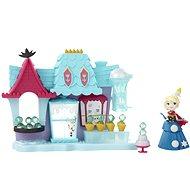 Frozen mini panenka - Hrací sada Elsa a Ledový obchod - Spielset