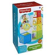 Lernspielzeug Fisher-Price - Stapelturm Tiermotiv - Didaktisches Spielzeug