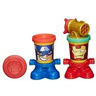 Play-Doh - Kelímky ve tvaru hrdinů Marvel - Kreativset