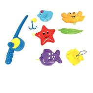 Bino Spielzeug-Set für die Badewanne mit Angelrute - Wasserspielzeug