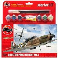Plastikmodell AirFix Starter Set A55213 Flugzeuge - Boulton Paul Defiant Mk.I - Platikmodel