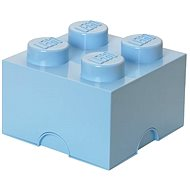 LEGO Aufbewahrungsbox 4 250 x 250 x 180 mm - hellblau - Aufbewahrungsbox